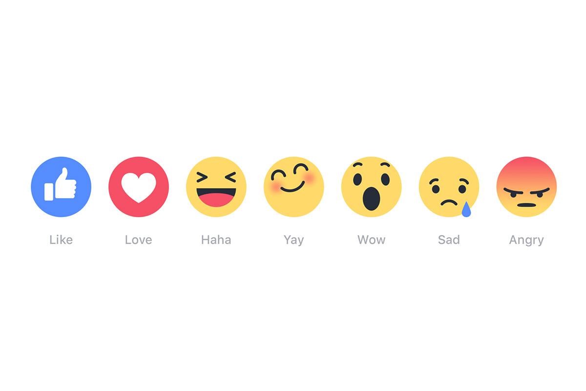 Facebook Reaksiyon Butonları