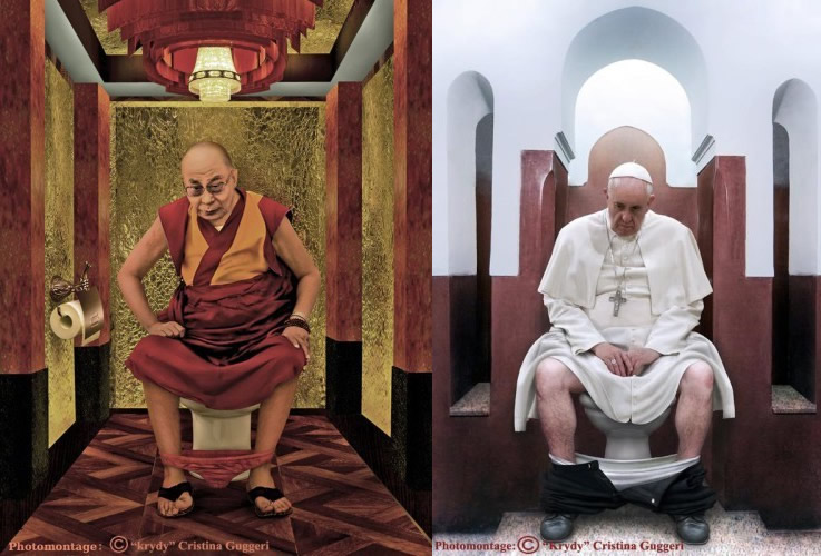 Cristina Guggesi - Dünya Liderleri Tuvalette
