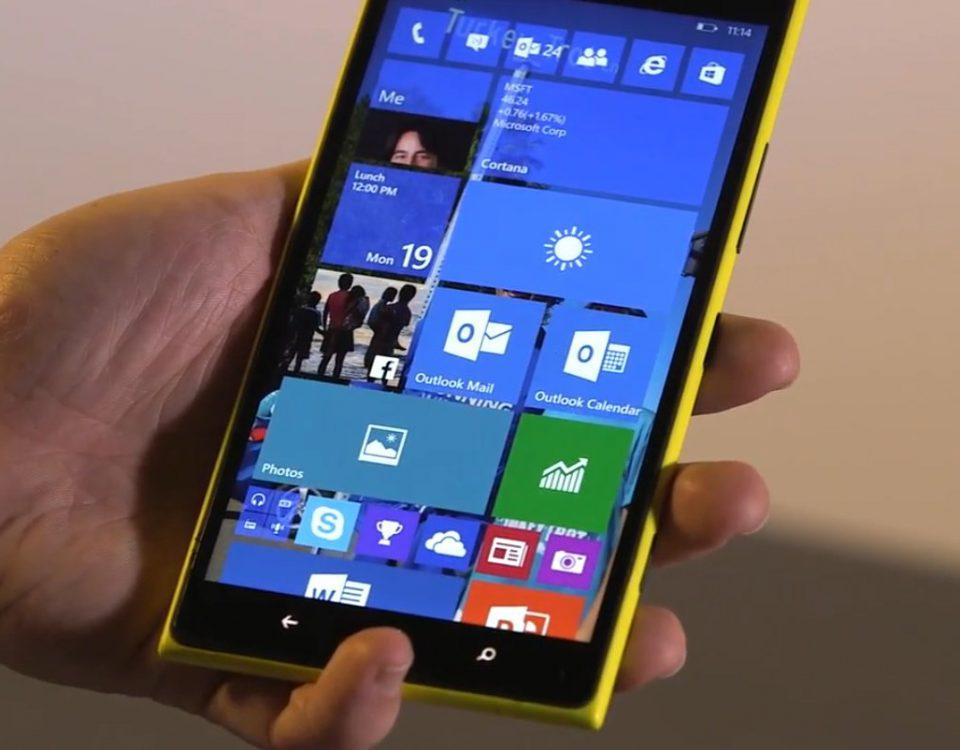 Windows 10 Mobile Parmak İzi Okuyucu Geliyor