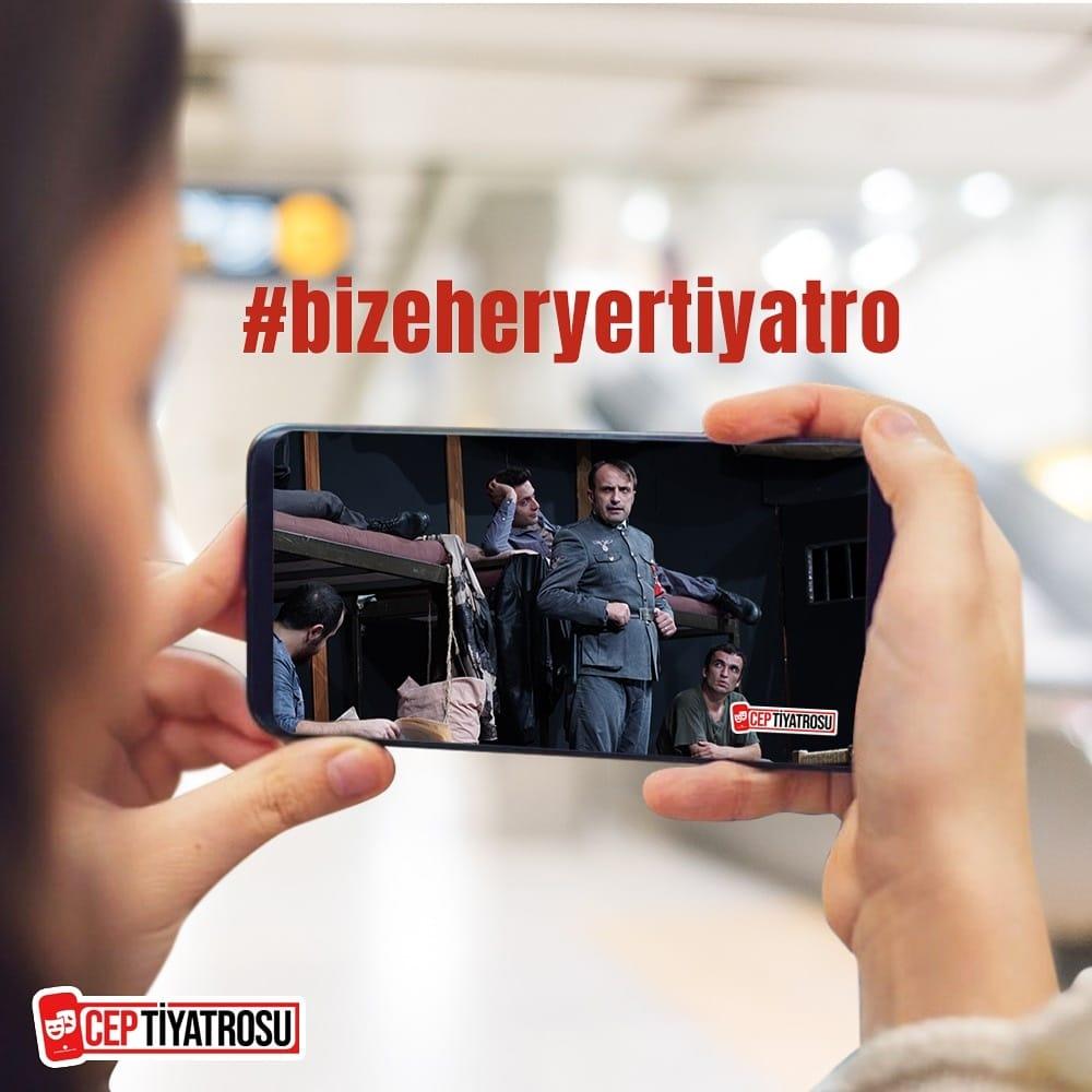"""Haldun Dormen'in """"Cep Tiyatrosu"""" kültürü Çağlar İşgören tarafından dijital dünyaya taşınıyor!"""
