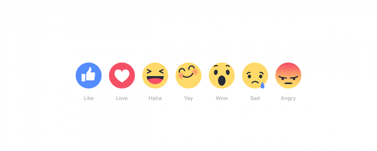 Facebook Yeni Reaksiyon Butonları