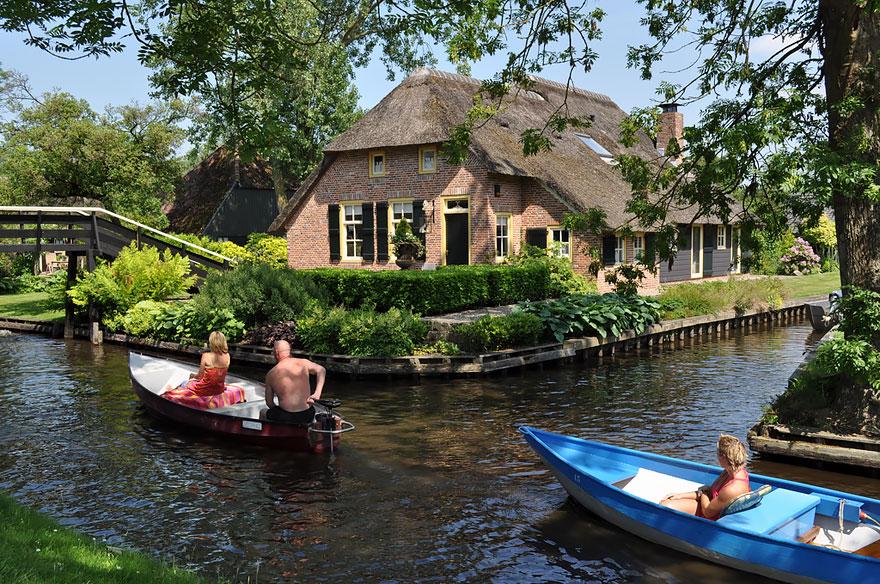 Hollanda Giethoorn